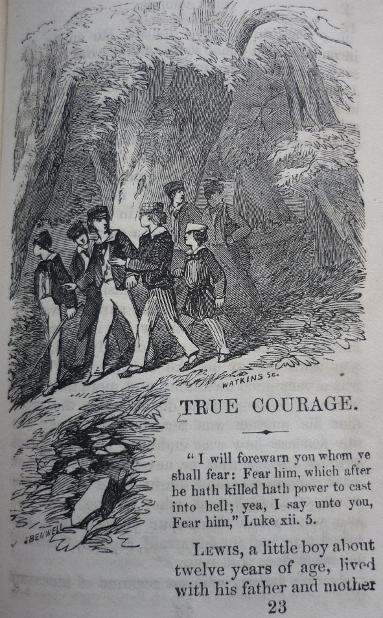 True Courage, Narratives for Youth